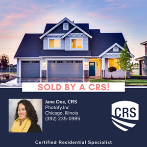 Sold by a CRS
