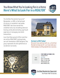 What to look for in a REALTOR tbnl