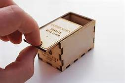 box and finger